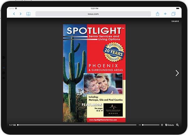Spotlight Senior Services Digital Edition